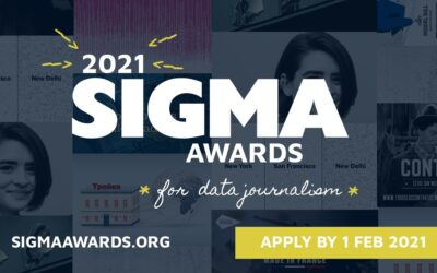 Sigma Awards for Data Journalism | Apply Now