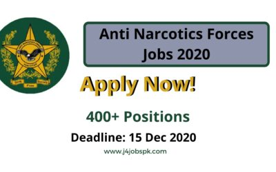 Anti Narcotics Force Jobs 2020 | Apply Now
